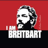 Design ~ Breitbart - I am - RWB - Button