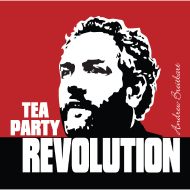 Design ~ Breitbart - Tea Party Revolution - Square