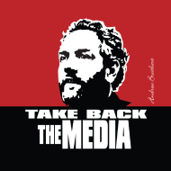 Design ~ Breitbart - Take Back the Media - Button