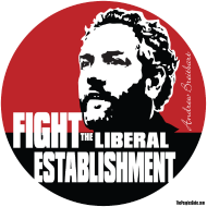 Design ~ Breitbart - Fight the Establishment - round