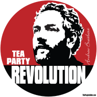 Design ~ Breitbart - tea Party Revolution - round