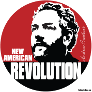 Design ~ Breitbart - New American Revolution - round