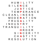 Franklin's Thirteen Virtues