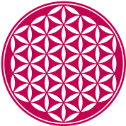 Flower of Life - Vector- Sacred Geometry, energy symbol, healing symbol,
