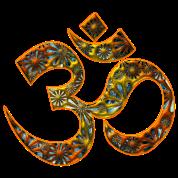 OM (AUM - I AM), manifestation of spiritual strength, Energy Symbol / sacred symbol, DD
