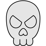 Jimbo Jones' Skull Shirt (Black & White)
