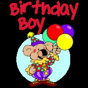 Birthday Boy Clown