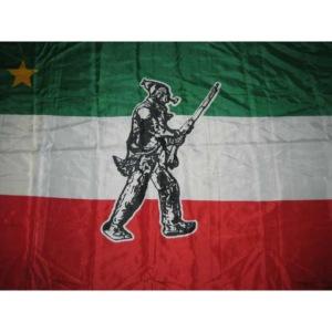 drapeau qubec patriote gant