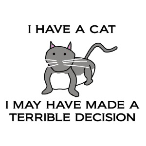 Terrible Decision Cat