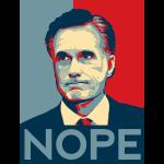 "Mitt Romney ""Nope"" Shirt"