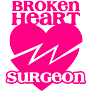 Broken heart surgeon funny design for anyone out of luck with Romance