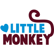LITTLE monkey perfect for a family design