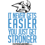 you just get stronger Gym Motivation