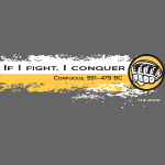 If I fight I conquer - wb
