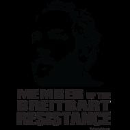 Design ~ Breitbart: member of resistance - black