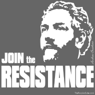 Design ~ Breitbart: join the resistance - W