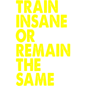 Train Insane Or Remain The Same