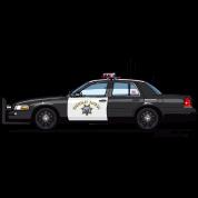 California Highway Patrol CHP Crown Vic (with Lightbar)