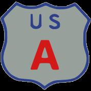US Highway sign USA