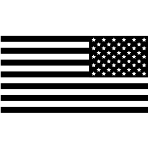 American Flag Subdued Tactical Reversed