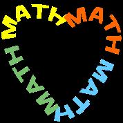 Math Text Heart