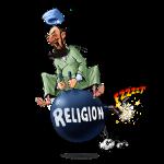 Religions are dangerous.