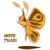 Design ~ mothtwainorange