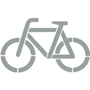 bicycle stencil