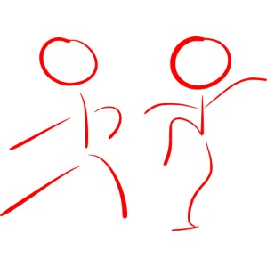 Tai Chi Stick Figures