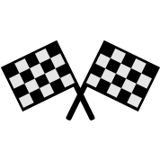 flags - car race