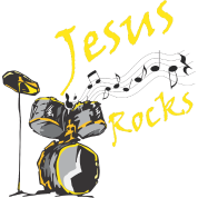 Jesus Rocks w/drum