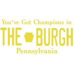 Burgh Champions License Plate Tee