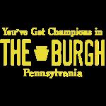 Burgh Champions License Plate Tee