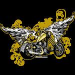 Bike And Wings