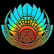 Mayan mask, crop circle, Quetzalcoatl, indians