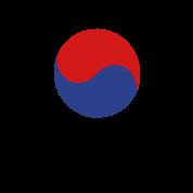 South Korea flag & korean language