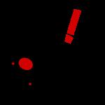 NiB bacterium, black lines