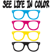 see life in color CMYK
