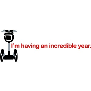 Having Incredible Year Segway