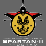 UNSC Spartan-II Program Insignia White