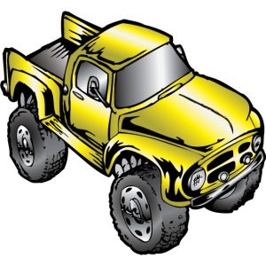 Old Yeller Monster Truck Ford F100