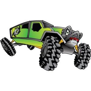Rock Crawling Monster Truck Green