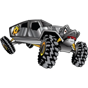 Rock Crawling Monster Truck Silver