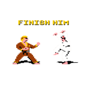 Karate Kid Finish him 8-Bit