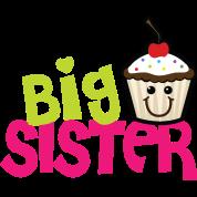 Big sister cupcake