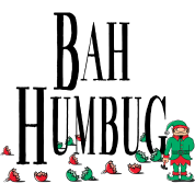 Bah Humbug Funny Christmas