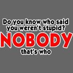 Nobody Said It