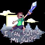 i can swing my sword shirt tobuscus mp
