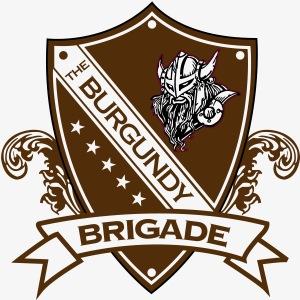 Burgundy Brigade Logo