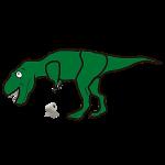 """Uh Oh T-Rex"""